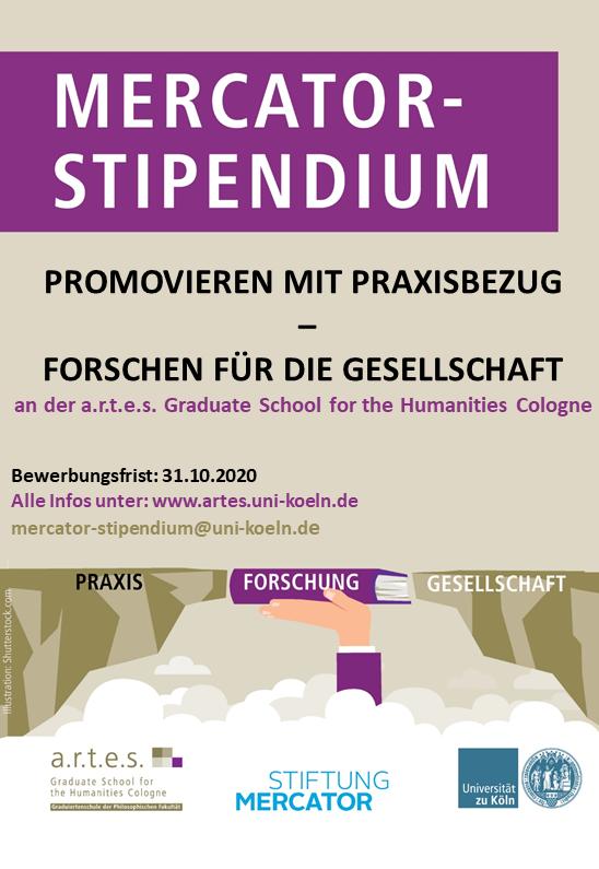 Mercator-Stipendium für Promovierende der Geisteswissenschaften